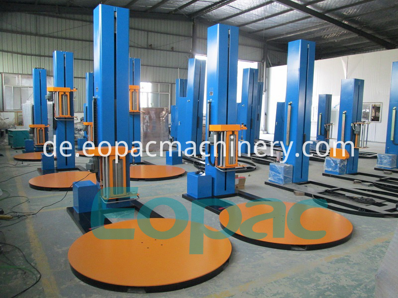 Stretch Film Pallet Wrapping Machines