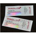 Étiquette pharmaceutique de fiole adhésive permanente de la conception libre 10ml