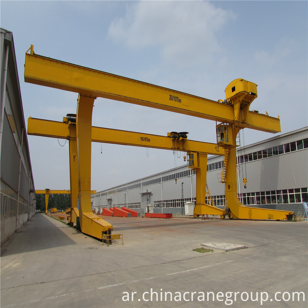L Electric Trolley Gantry Crane