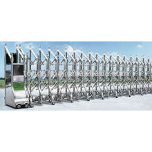 электрические ворота изготовления растяжной