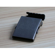 hot selling iron material blank belt buckle wholesale for men