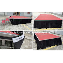 Black Durable and Comfortable Stage Skirt