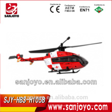 Hubsan H105B 4CH 2.4Ghz EC145 single rotor rc helicopter (Normal TX)