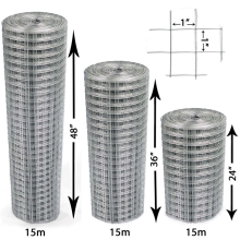 welded wire mesh roll good quality welded  wire mesh panel