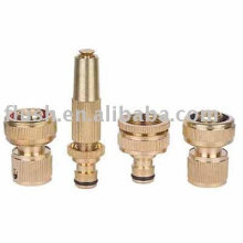 4pcs brass basic water hose connector set