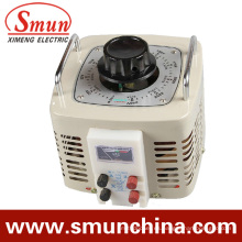Entrada de regulador de voltaje de contacto 1kVA Salida monofásica 220VAC 0 ~ 250VAC