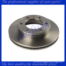 high performance rear rotor disc brake and drum brake with cheap price