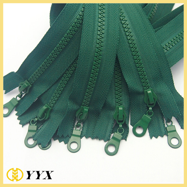 plastic zipper for bags
