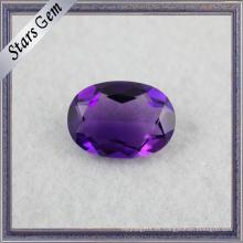 Excelente calidad forma oval Hermosa púrpura amatista natural