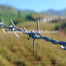 2.0mm barbed wire hot dipped galvanized barbed wire 2.0mm barbed wire hot dipped galvanized barbed wire