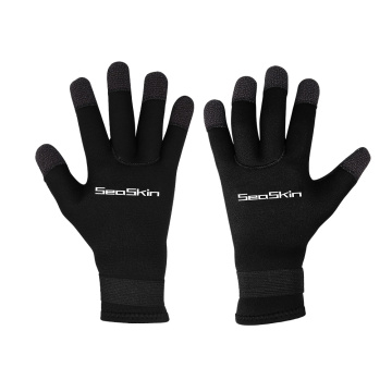 Guanti da sub in neoprene Kevlar 5mm per adulti Seaskin