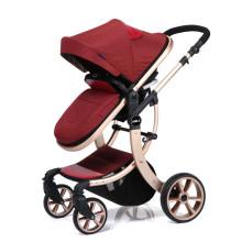 Carrinho de bebê / carrinho infantil Deluxe da marca aimile para bebês de 0 a 36 meses