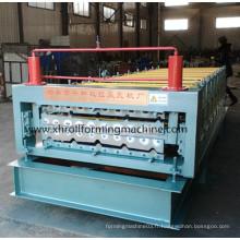 Machine de formage de rouleaux à double couche de toit