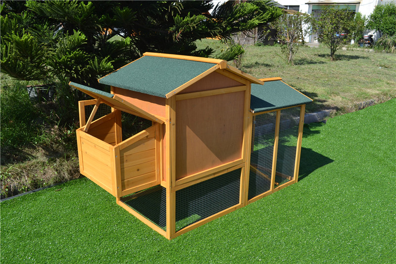 wooden hen kennel cage