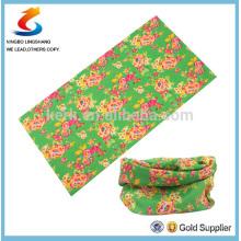 100% Polyester Multifunction printed tube bandana,multifunctional sport bandana ,LS bandana