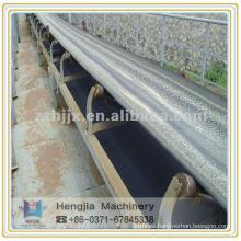 Correa transportadora, transporte de cemento