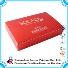 Embalagem personalizada de travesseiros / sapato / impressão de caixa de cosméticos