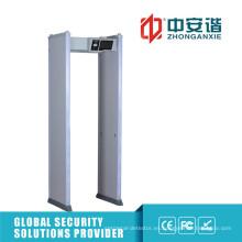 Detector de metales anti-interferencias de puerta ajustable