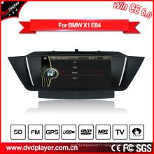 Windows Ce Audio Radio de voiture pour BMW X1 E84 avec GPS Bluetooth Pod Radio Hualingan