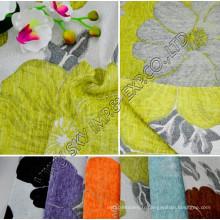 100% Polyester Jacquard Chenille Canapé Tissu 148-150cm Largeur