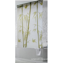 new design PEVA roller shower blind curtain for 2016 china supplier