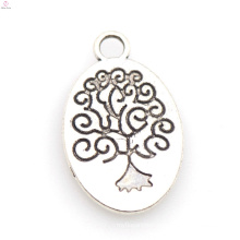 Italy chunky silver tree of life charm jewelry wholesale