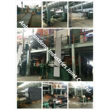 Conveyor Belt PVC Pvg Solid Woven Fire Resistant 1000s/Rubber Belt