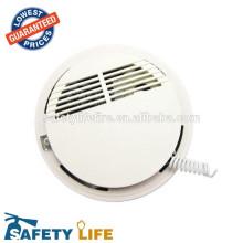 detector de fumaça preto / detector de fumaça / mini detector de fumaça à prova d 'água