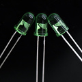 Super Bright Green 5mm LED Epistar Chip