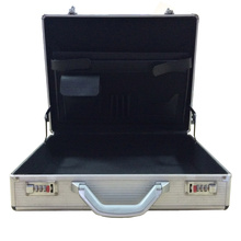 Caja de herramienta de aluminio portátil de la venta caliente con la cerradura cifrada