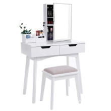 Living room furniture Glass girls dressing table
