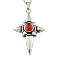 Ювелирные изделия оптом Bulk Red Colors Gemstone подвеска