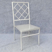 Silver Outdoor Events Rental Stacking Chairs (YC-A28-08)
