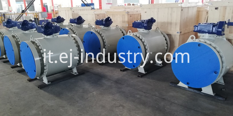 forged side entry ball valve