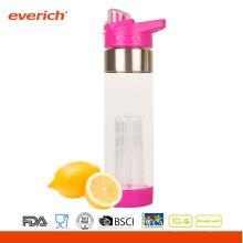 BPA GRATIS botella de agua potable de plástico en botellas de agua de plástico