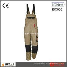 Men Poly Cotton Twill Workwear Bib Pants