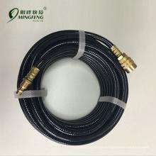Manguera de pvc durable acoplador rápido neumático