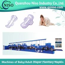 High Speed Feminine Hygiene Pad Machine with SGS (HY600-FC)