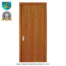 Porte en bois composite solide de style moderne (ds-087)