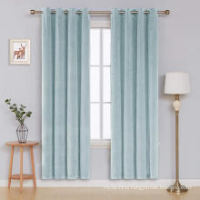 Floral embroidered tulle fabric curtains