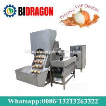 Onion Peeling and Root Cutting Machine For Onion Planting Machine