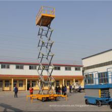Promoción elevadora hidráulica de tijera de alta calidad.