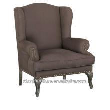 Muebles franceses estilo sofá moderno silla XF1023