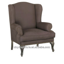 french furniture style modern sofa chair XF1023