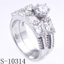 Новые стили 925 Серебряный Мода Ювелирные изделия Обручальное кольцо (S-10314. JPG)