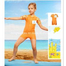 Orange Kleine Mädchen Kinder Mode Bademode