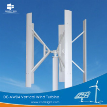 DELIGHT Vertical Wind Turbine Generator with Solar Panel