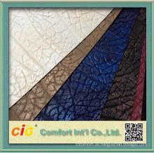Popular China sintético cuero para la cubierta de asiento de coche