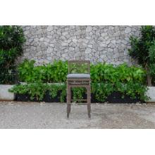DEVON COLLECTION - Impresionante conjunto de barra de rotén de polietileno para uso al aire libre Muebles de mimbre