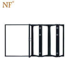 Folding Door Pvc Sliding Doors Japanese Insulated Plastic Accordion Doors 10 Years Entire Door Maintenance,more Than 5 Years NF